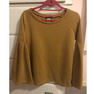NWT BLVD Bell Sleeve Top